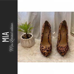 Leopard print- Mia limited edition heels